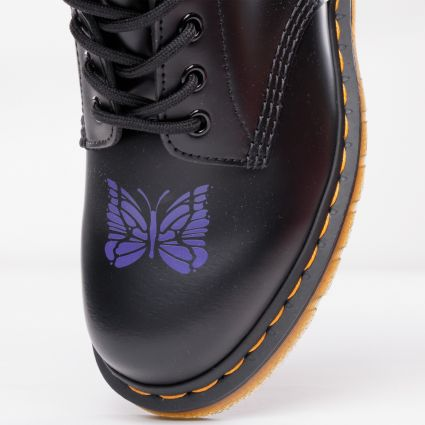 Dr Martens x Needles 1460 Stripe Smooth Black/Purple