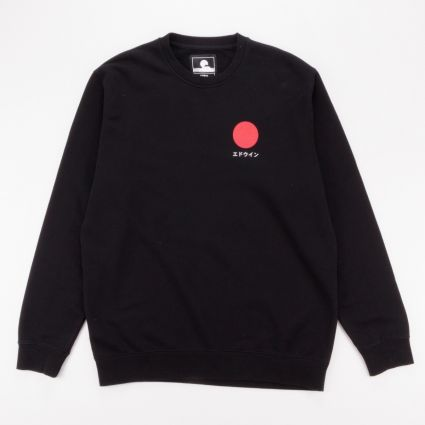 Edwin Japanese Sun Sweatshirt Black1