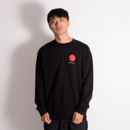 Edwin Japanese Sun Sweatshirt Black