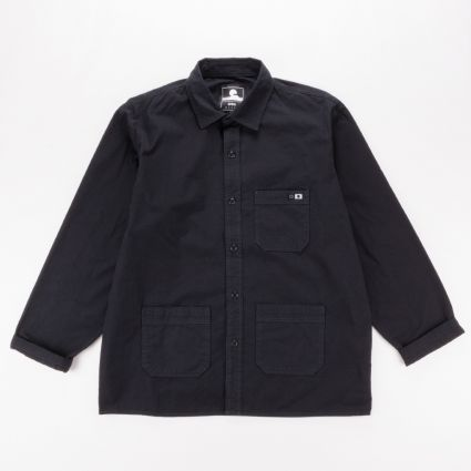 Edwin Major Long Sleeve Shirt Black1