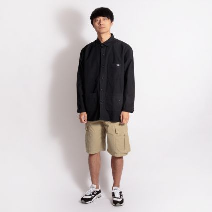 Edwin Major Long Sleeve Shirt Black