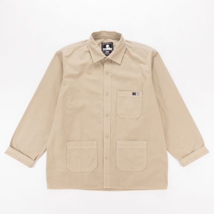 Edwin Major Long Sleeve Shirt Desert1