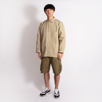 Edwin Major Long Sleeve Shirt Desert