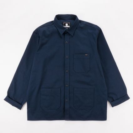 Edwin Major Shirt Navy Blazer1