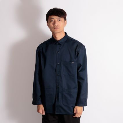 Edwin Major Shirt Navy Blazer