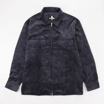 Edwin Radar Shirt Ebony Cord1