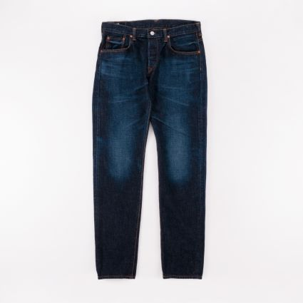 Edwin Regular Tapered Jeans Blue Dark Used