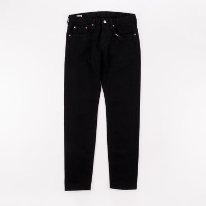 Edwin Slim Tapered Jeans Black Rinsed