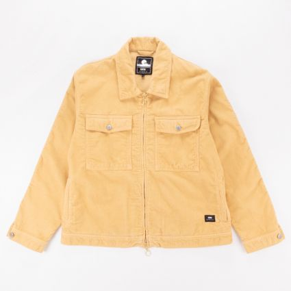 Edwin Sten Zip Jacket Curry