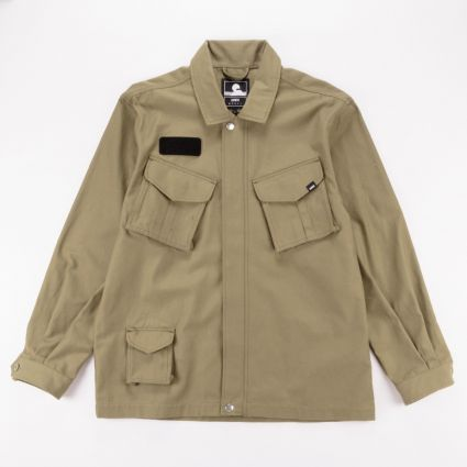 Edwin Strategy Jacket Martini Olive1