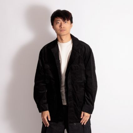 Engineered Garments BDU Jacket Black 14W Corduroy