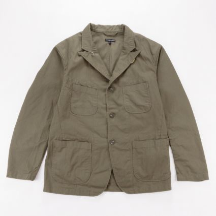 Engineered Garments Bedford Jacket Olive Cotton Herringbone Twill1