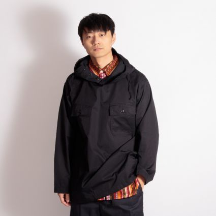 Engineered Garments Cagoule Shirt Black