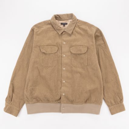 Engineered Garments Classic Shirt Khaki 14W Corduroy1