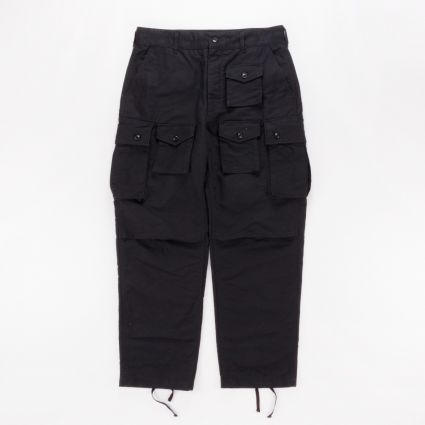 Engineered Garments FA Pant Black Cotton Double Cloth1