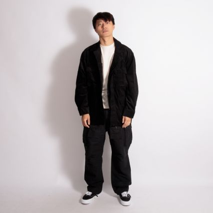 Engineered Garments FA Pant Black Cotton Double Cloth