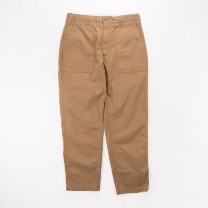 Engineered Garments Fatigue Pant Brown Cotton Herringbone Twill1
