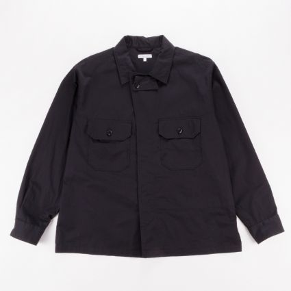 Engineered Garments MC Shirt Jacket Black1