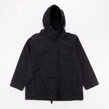 Engineered Garments Sonor Shirt Jacket Black Cotton Double Cloth1