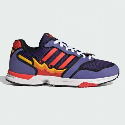 Adidas x The Simpsons ZX 1000 Flaming Moes Purple/Bright Red/Core Black H05790