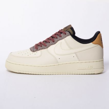 Nike AIR FORCE 1 07 LV8 4 FOSSIL/FOSSIL-WHEAT-SHIMMER CK4363-200