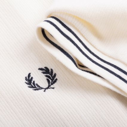 Fred Perry Reissues Crew Neck Piqué T-Shirt Ecru