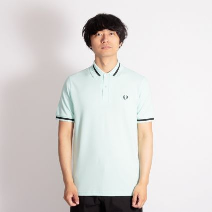Fred Perry Single Tipped Shirt Brighton Blue