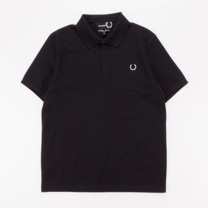 Fred Perry x Raf Simons Laurel Wreath Detail Polo Black1