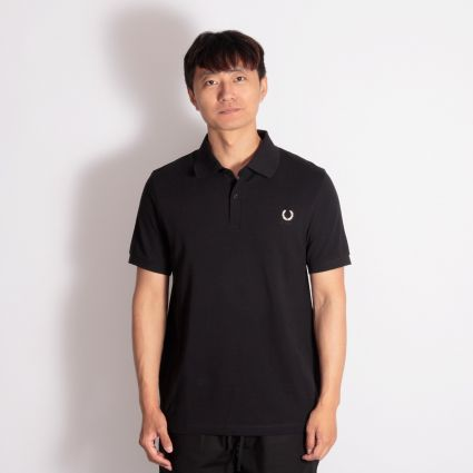 Fred Perry x Raf Simons Laurel Wreath Detail Polo Black