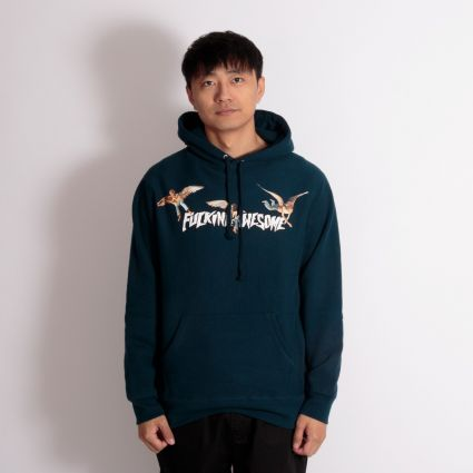 Fucking Awesome Angel Stamp Hoodie Navy