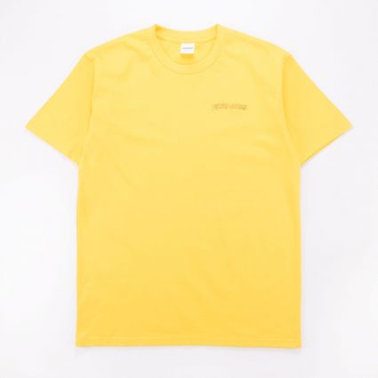 FUCKING AWESOME Finis Tee PALE YELLOW