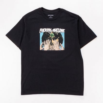 Fucking Awesome Fortune Teller T-Shirt Black1