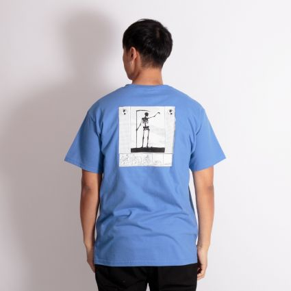 Fucking Awesome Grim Reaper T-Shirt Blue