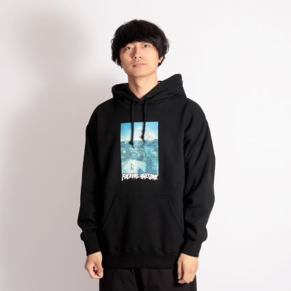 Fucking Awesome Helicopter Hoodie Black