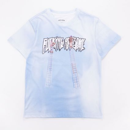 Fucking Awesome Painters T-Shirt Blue