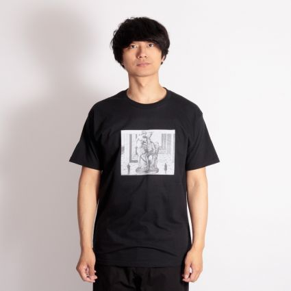 Fucking Awesome Perspective Statue T-Shirt Black