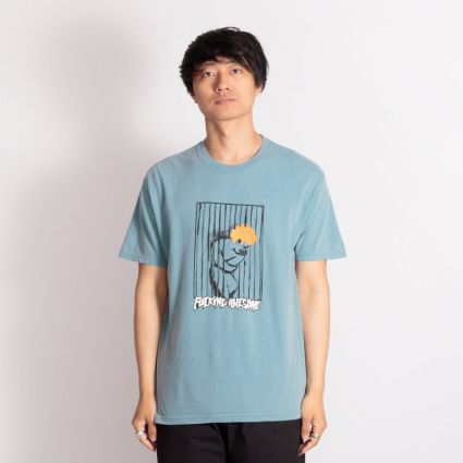 Fucking Awesome Psych Ward T-Shirt Ice Blue