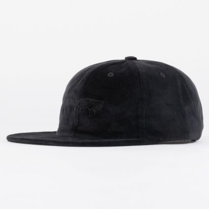 Fucking Awesome Stamp Unstructured Strapback Cap Black1