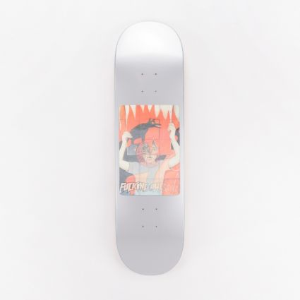 Fucking Awesome Tiger Holographic Deck Silver1
