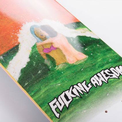 Fucking Awesome Wave Painting Deck