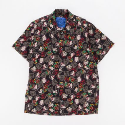 G Threadz Akira Short Sleeved Shirt Faces1