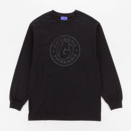 G Threadz Logo Long Sleeve T-Shirt Black1