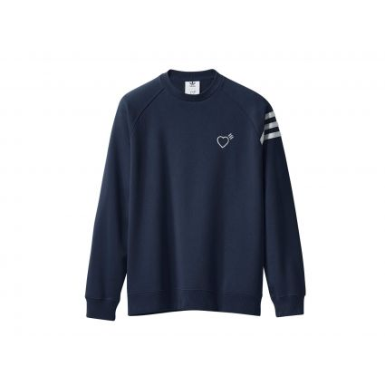 Adidas X Human Made Navy Sweatshirt