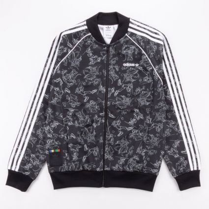adidas Originals Goofy SST Track Top Black/White1