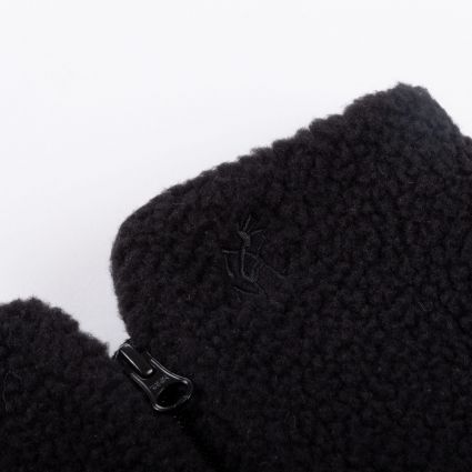 Gramicci Boa Fleece Neck Warmer Black