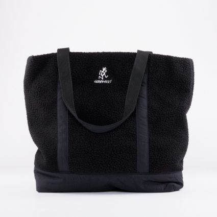 Gramicci Boa Fleece Tote Black1