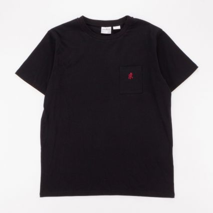 Gramicci One Point T-Shirt Black1