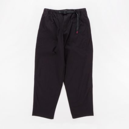 Gramicci Weather Wide Tapered Pants Black