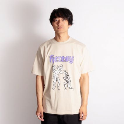 Heresy Blessing T-Shirt Putty