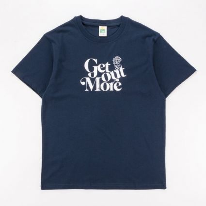 Hikerdelic Get Out More T-Shirt Navy1